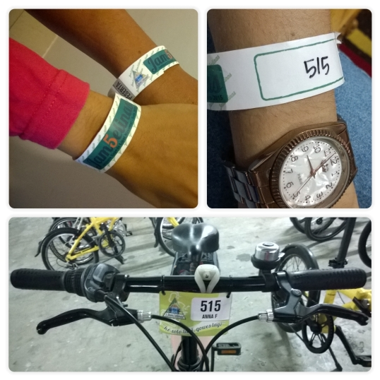 Identitas sepeda dan peserta Jamselinas V